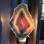 Agate Slice Nightlight