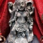 "Kali 12"" Stone Statue"