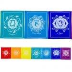 Seven Chakra Tibetan Prayer Flag