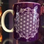 Purple Flower of Life Mug