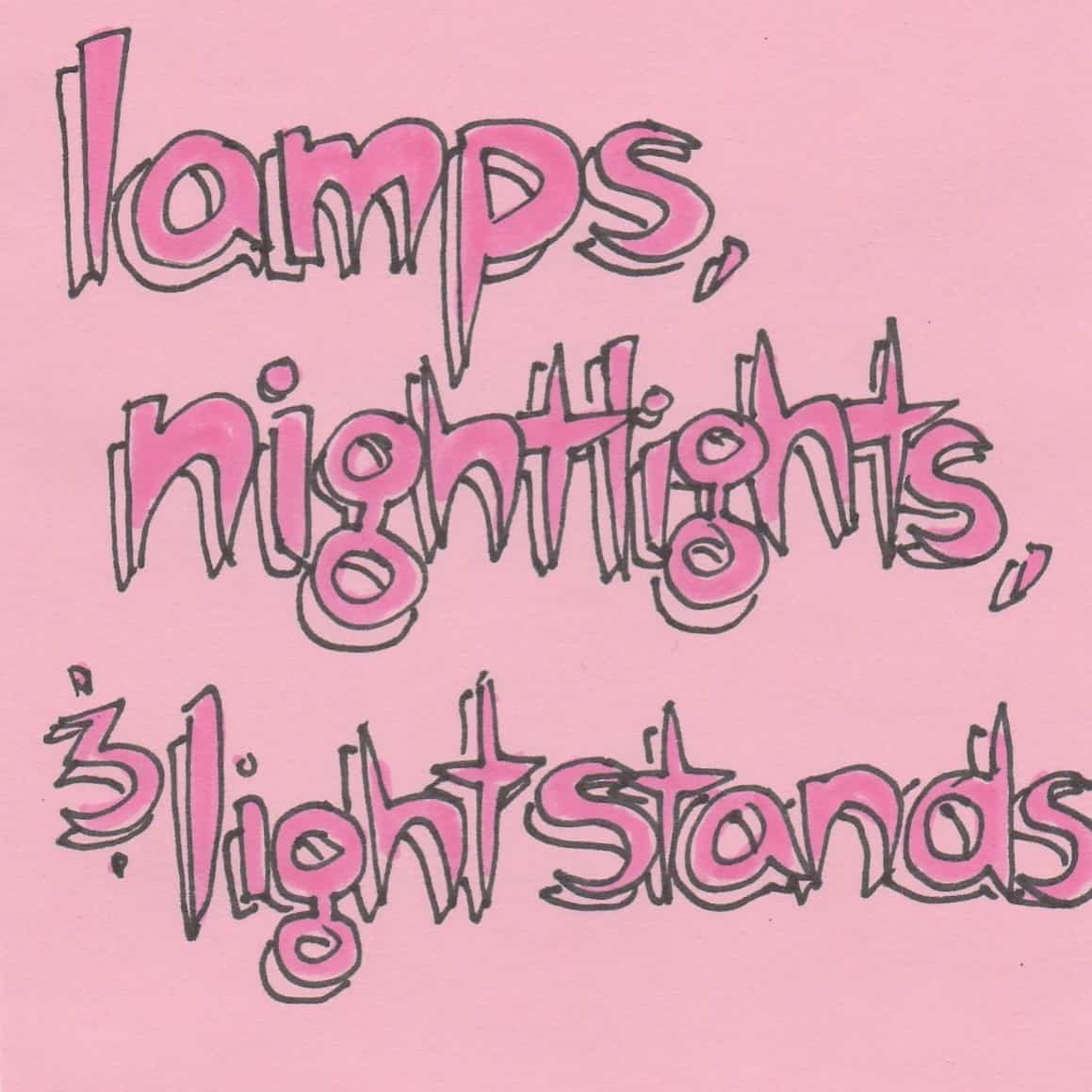 Lamps, Nightlights, and Light Stands