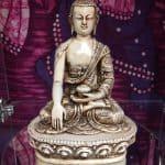 7.25″ Medicine Buddha (White)