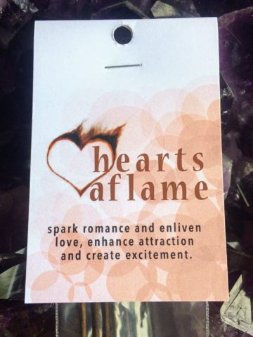 Hearts Aflame Incense