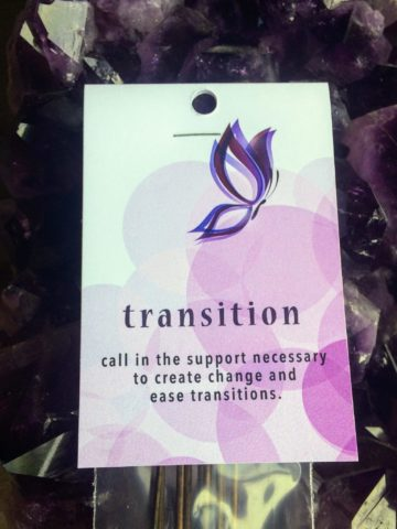 Transition Incense