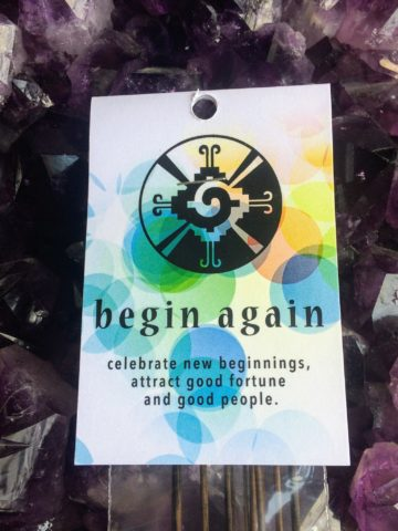Begin Again Incense