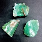 2″ Green Calcite Specimens