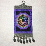 "Seven Chakra Mandala Wall Hanging Carpet 10"""