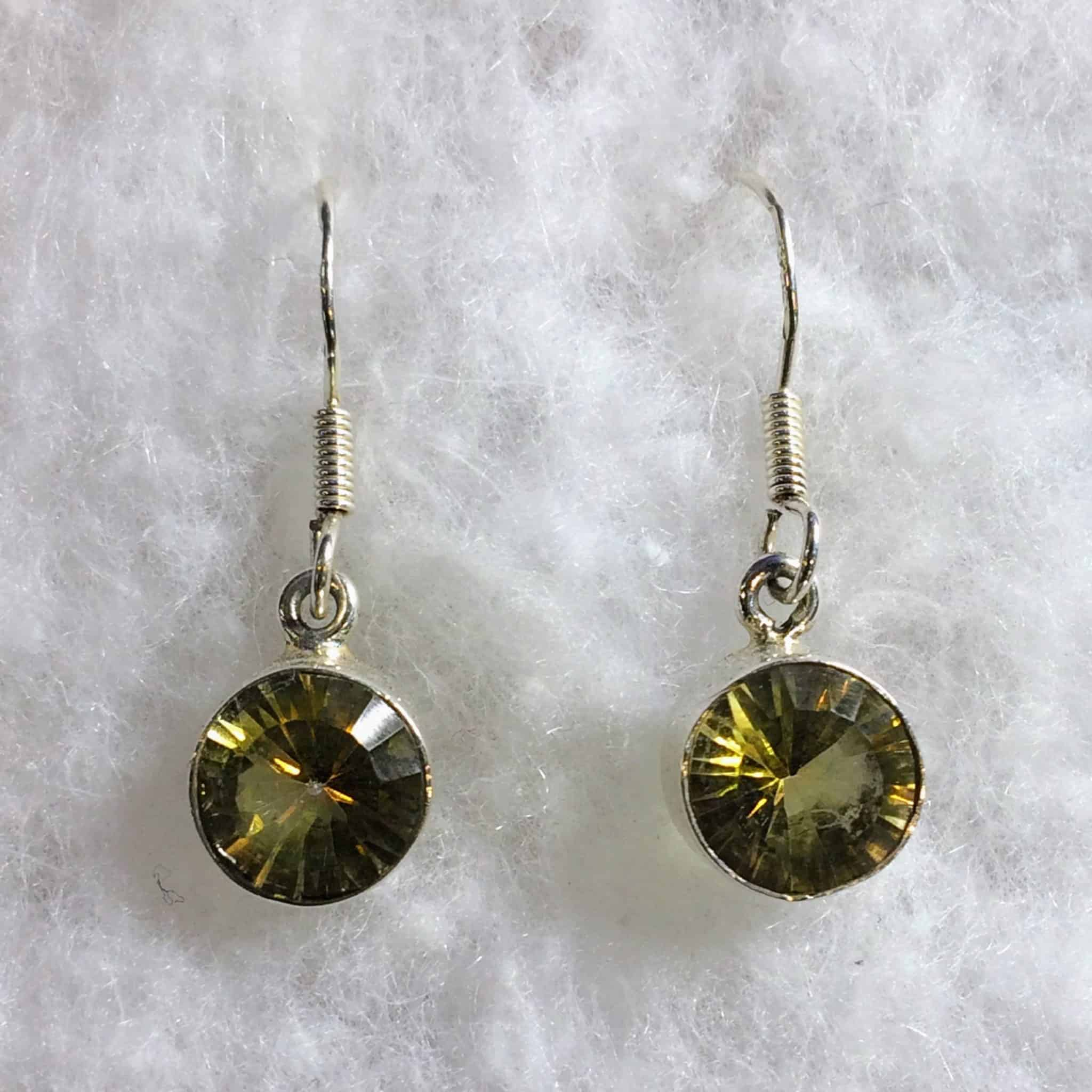 sunset studs topaz index earrings silver gold round shop in or mystic