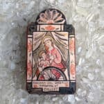 Madonna Del Ghisallo Wooden Plaque