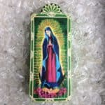 12.5″ Our Lady of Guadalupe Wooden Plaque