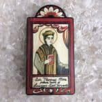 """5"""" Sir Thomas More Wooden Plaque"""