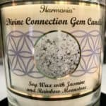 Divine Connection Gemstone Soy Candle
