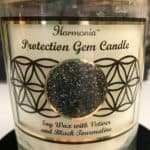 Protection Gemstone Soy Candle