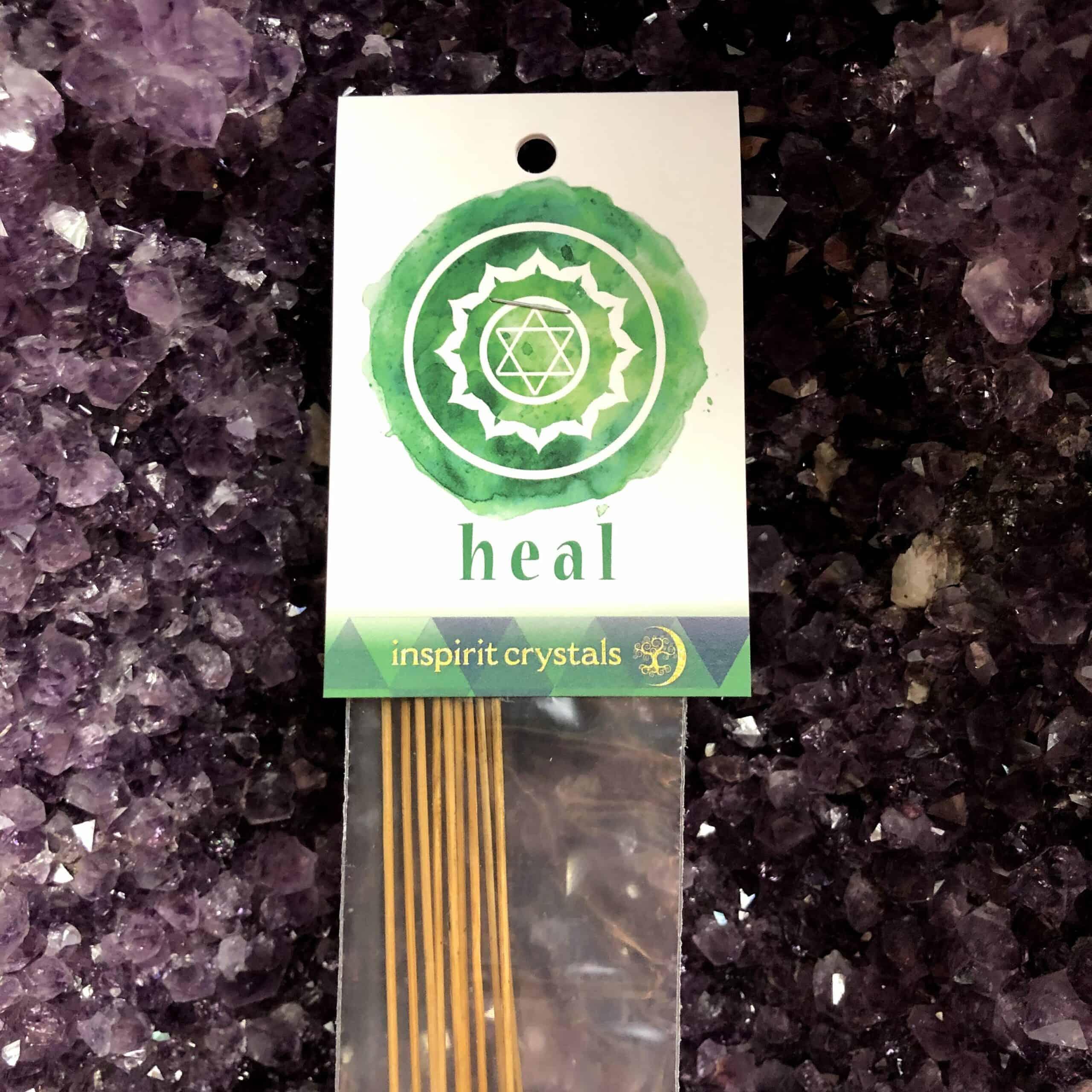 Heart Chakra (Heal) Incense