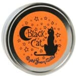 Crystal Journey Herbal Magic Reiki Charged Dual Wick Travel Candle Tin - Black Cat